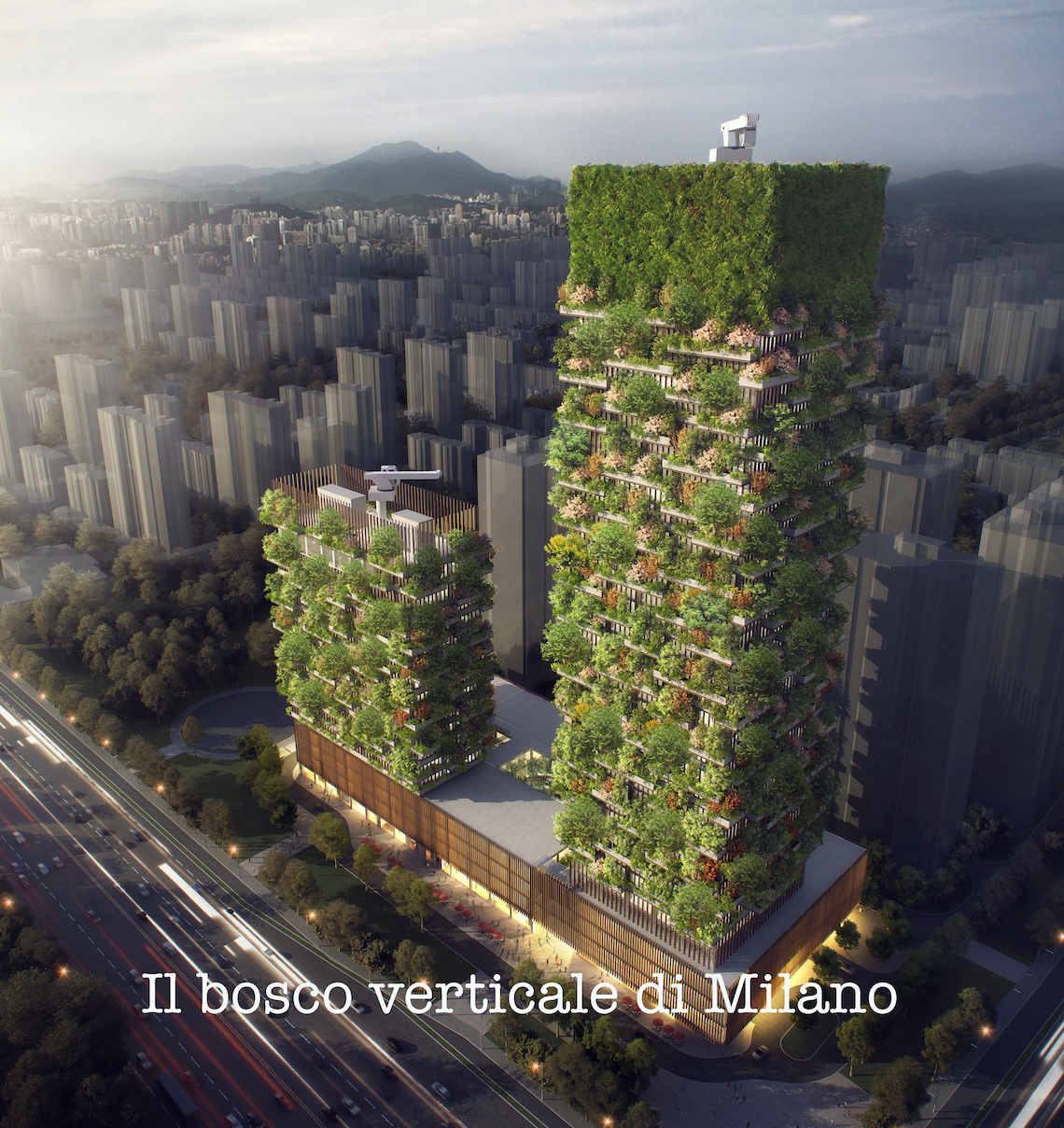 Il bosco verticale, ottimo esempio di marketing narrativo territoriale